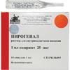 Пирогенал р-р для в/м введения 25мкг/мл 1мл №10